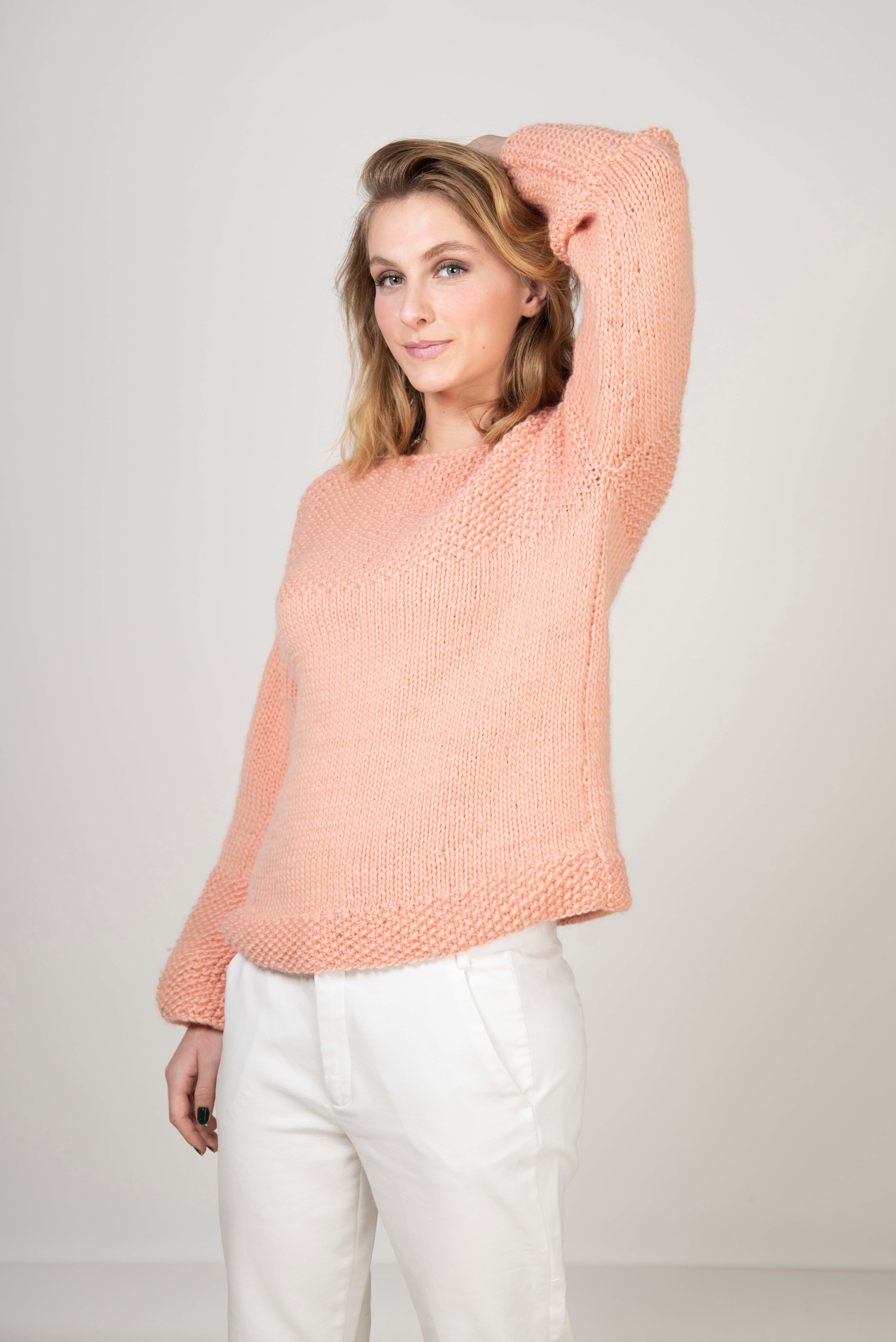 flared sweater