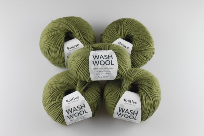 Pack de 5 ovillos Wash Wool