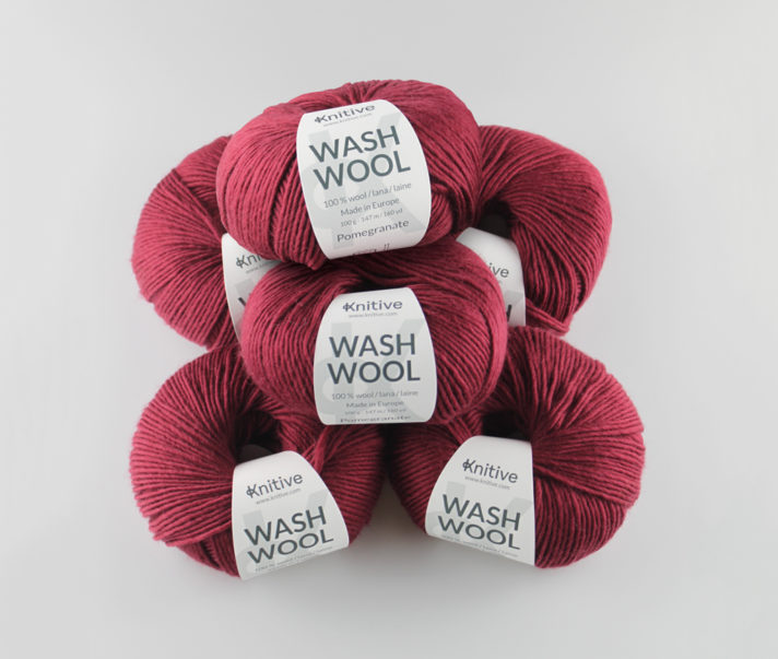 Pack de 6 ovillos Wash Wool