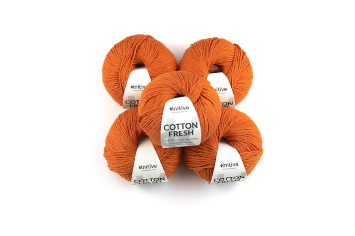Pack de 5 ovillos Cotton Fresh colores S/S 21